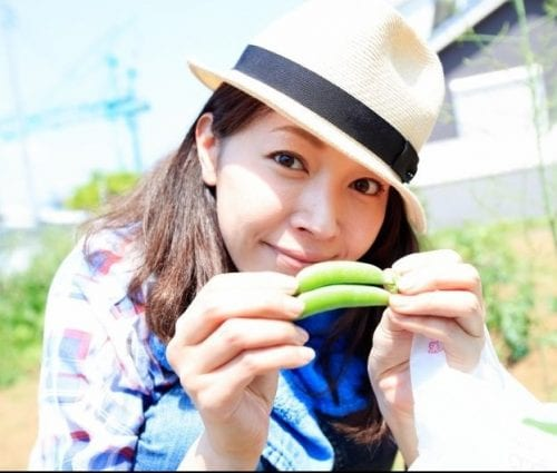 野菜と滝沢沙織